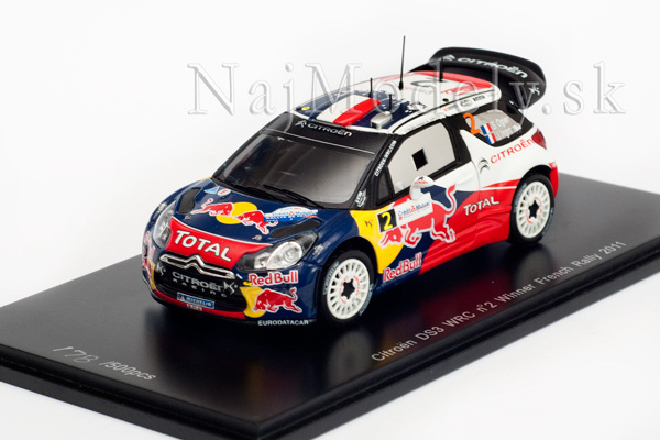 Citroen DS3 WRC No.2 Winner French Rally 2011