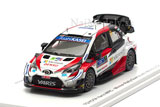 Toyota Yaris WRC No.17 Winner Rally Mexico 2020 Ogier/INgrassia